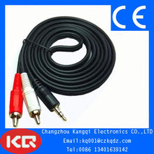 New design new style japan sex video av rca cable rca composite video to vga converter plug 3 rca connector sex video adapter