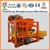 Competitive Price ! QTJ4-25D brick maker machine,automatic concrete block machine