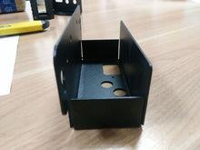 Customized sheet metal stamping bracket/sheet metal corner bracket powder coat/bending right angle sheet metal bracket