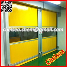 Auto fabric pvc high speed industrial rolling door food industry used