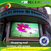 Building Wall xxxxx china video led dot matrix outdoor display P16