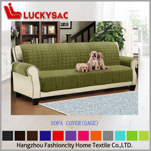 Children and pet friend quilted Micro fiber Slip sofa covers Protector