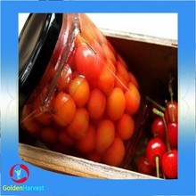 canned red cherry in light syrup for sale