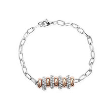 Fashion popular nine pieces circles a string of happiness bracelet with chain