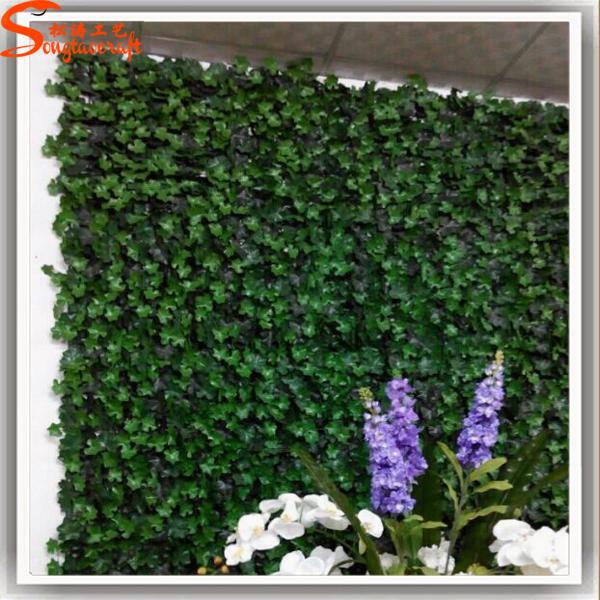 Adapt pour l 39 ext rieur d coration plante artificielle mur for Plantes artificielles exterieur