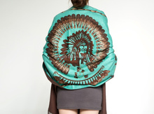 100% silk soft lady scarf fashion classic Indian flora high quality long women shawl scarf wholesale