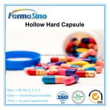 Blue white medicine capsule