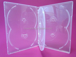 six discs 14mm dvd case super clear raw material