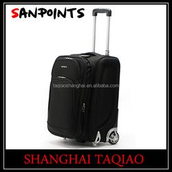 Fashion soft trolleysuitcase chinese suitcase retractable luggage handles president luggage