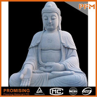 Best price Natural stone made hand carving Chinese marble Laughing Maitreya Buddha Sculptures/Statues