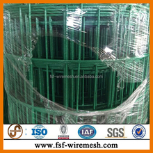 PVC Coated Euro Type Iron Welded Holland Fence Wire Mesh