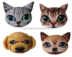 Wholesale factory best price animal head pillow stuffed home decorative pillow