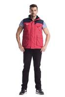 2015 brand new warm white duck down wear high density nylon taffeta vest for aurtome winter