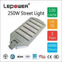 Best Performance Aluminum Housing Outdoor 250W LED Street Light 130Lm/W IP66