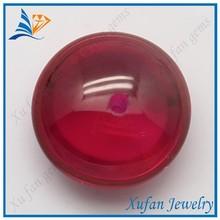 8mm round red corundum gemstone ruby beads