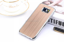 Colors satin meta shell phone hard case shell case for samsung galaxy 6