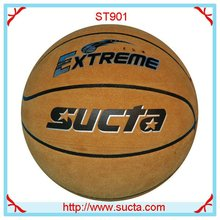 Extreme cow leather basketball balls ST901