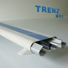 140mm hospital use wall mounted aluminum metal bumper guard