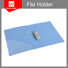PP material Clip file folder/file holding clips/lever arch file