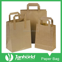 Recycled High Quality Kraft Paper Shopping Bag