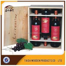 Discount Antique 3 Bottle Wooden Wine Box