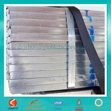 2015 low price welded thin wall 80g galvanized carbon tubular