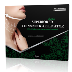 New Arrival Neutriherbs Herbal Slimming Hot Gel Best Slimming Chin Mask Chin Wrap Quickest Way to Burn Fat