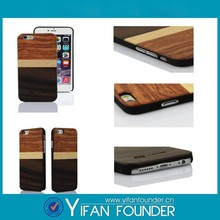 Top quality mixed wood cover casing for iphone 6,for iphone 5S wood case