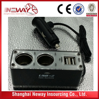 12v car battery charger/ car cigaretter lighter/ car charger adapter