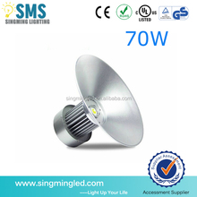 Hot Sale CE ROSH Approved High Brightness Industrial 70W Led High Bay Light