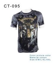 2015 100% Cotton t shirts , printed t shirts men t-shirt wholesale China