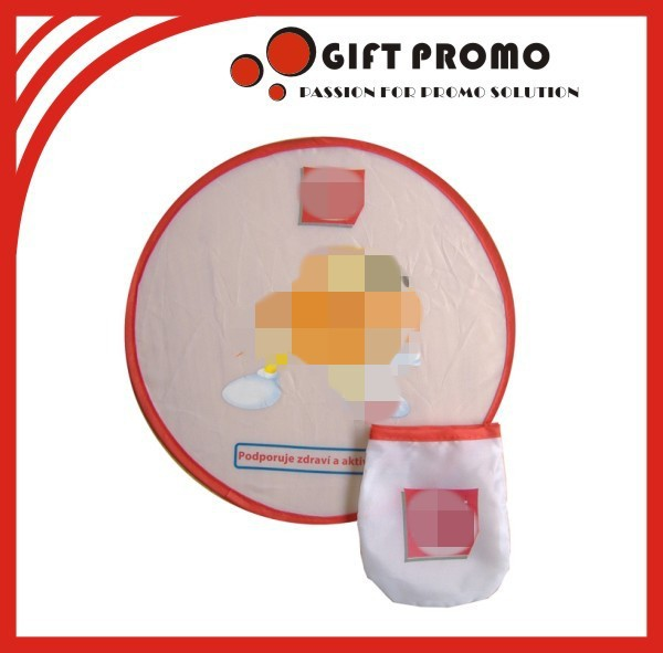 Custom Cloth Made Fold-able Frisbee Fan