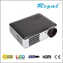 Multimedia projector latest projector led projector support 1080P for Home Use Eaducation Meeting Tablet PC
