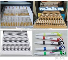 cheap ballpoint plastic pen log printer inkjet printing machine for sale with free rip software provided