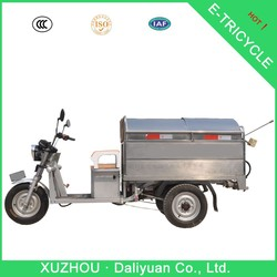 800W garbage cleaning electric tricycle for cleaners to sterilize