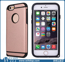 New Trend Fashion Case for iPhone 6, Dual Layer TPU PC for iPhone 6 Back Case