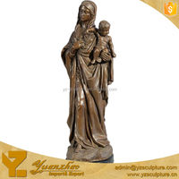 Life Sie Mary Joseph Baby Jesus Statue For Decoration BFSN-C068