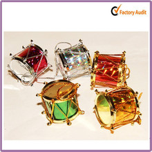 Plastic Glitter drum most popular wholesale christmas decorations