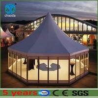 Outdoor aluminum hexagonal circus tents for sale