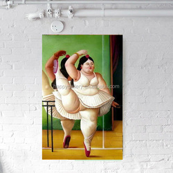 fat lady paintings