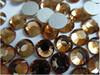 factory big size lt topaz color swarovski imitation non hotfix flatback crystal rhinestone for nail art