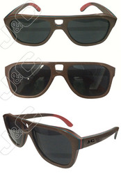 2015 fashionable and handmade top selling wooden sunglasses with custom boxes