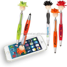 hot new product cartoon stylus writing pen for iphone ipad touch