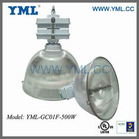 UL and EMC standard 80W to 600W Induction High Bay Lighting Fixture/ Light Fitting with UL Certified EMC Standard