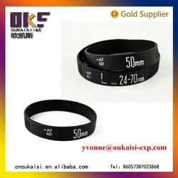 black comfortable silicone rubber bangle   black silicone rubber bands