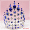 The crown of large set with blue diamond or Colour diamond nice chirstmas gift crown miss