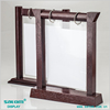 high quality with low price wooden menu holder stand