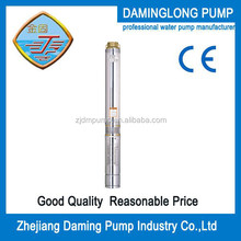 Stainless steel submersible deep well pump 4 inch