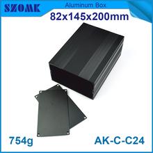 """China aluminum case manufacturer 82x145xfree(mm) 3.23""""x5.71""""xfree aluminium extrusion case"""