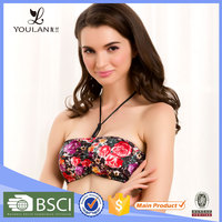 2015 New Arrival Breathable Female Rose Sexe / Sexi / Saxi Xxx Sexy Breast Shaper Bra
